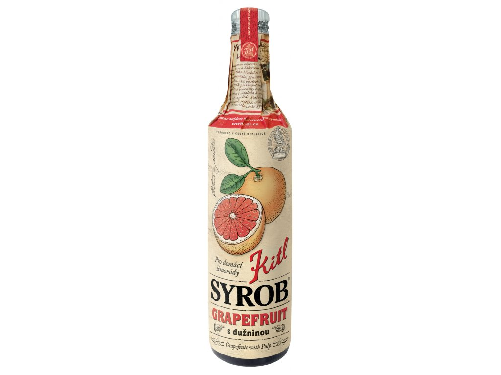 kitl syrob grapefruit 500 ml