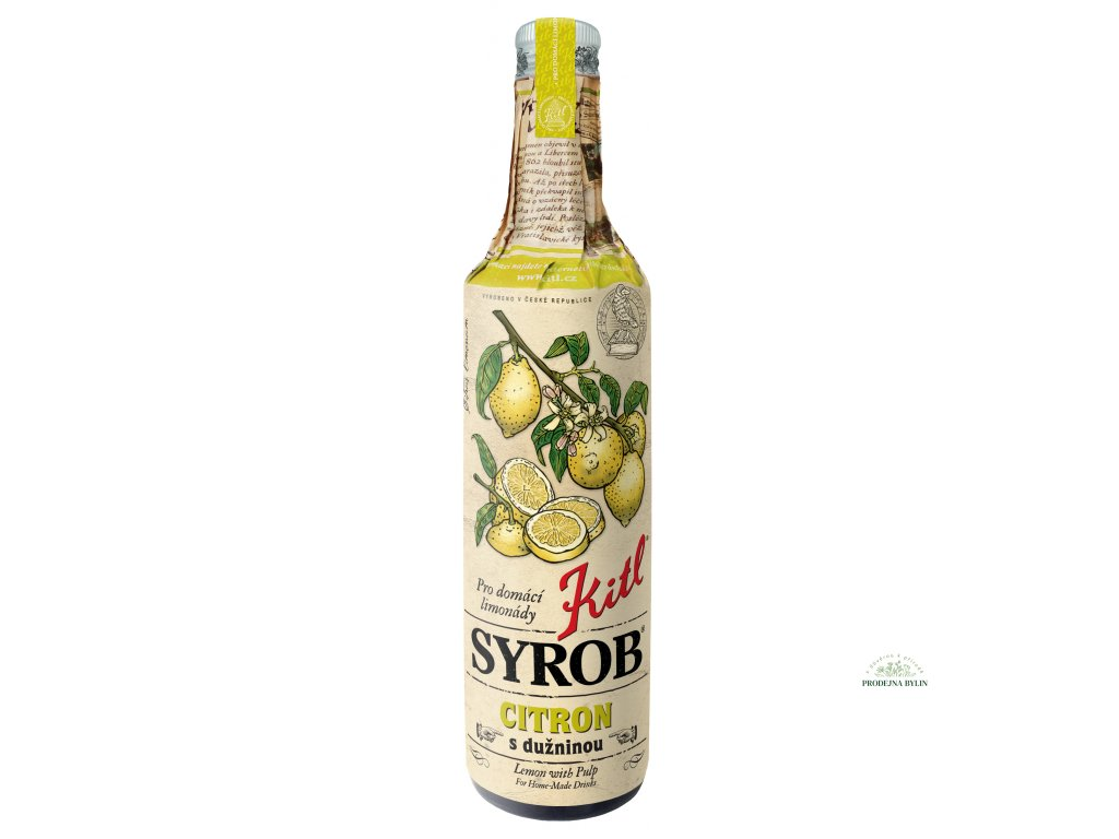kitl syrob citron 500 ml (1)