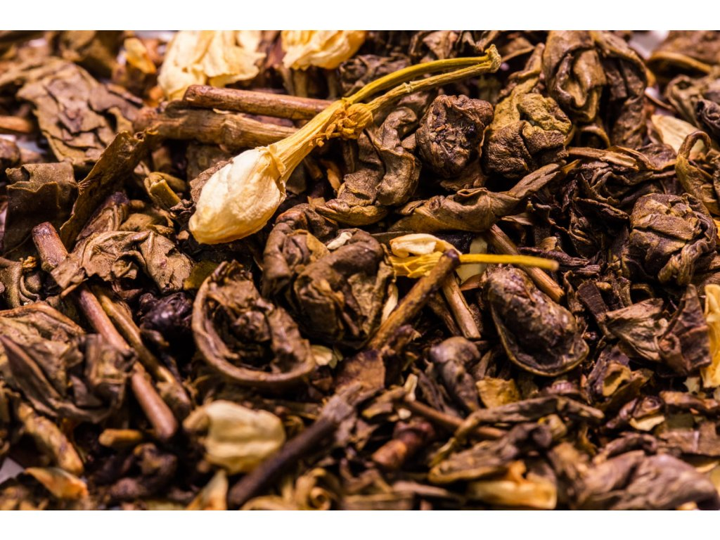Zelený čaj JASMÍNOVÝ
