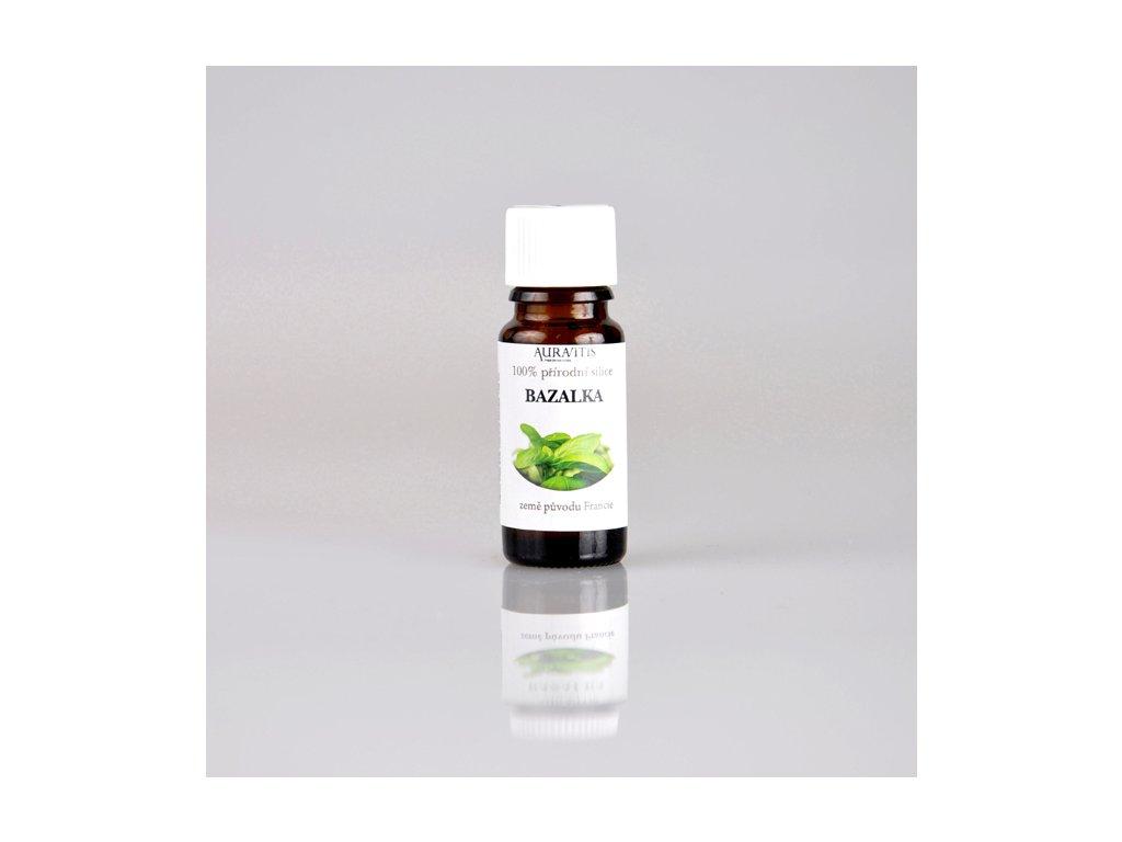 Milota esenciální olej BAZALKA 10 ml