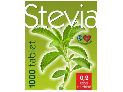 Stevia - 1000 tablet á 60mg v doze