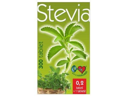 Stevia - 300 tablet v praktickém dávkovači