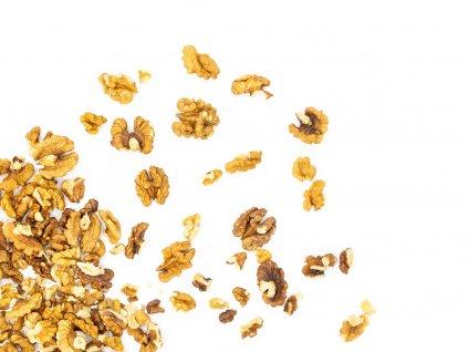 Vlašské ořechy loupané (výběrové, čištěné) Nová sklizeň 2020/2021