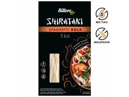 Konjakove testoviny Bitters špagety bold