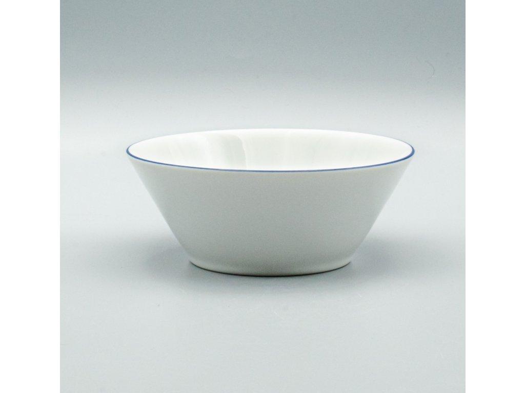 TOM modrá linka, Mísa kompotová 16 cm, Thun