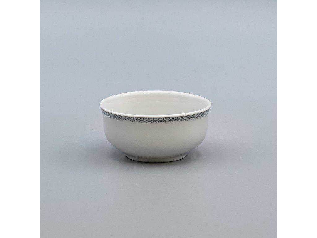 OPAL svatební šedá, Miska ANGELIKA na dochucovadla 8 cm, krajka, Thun