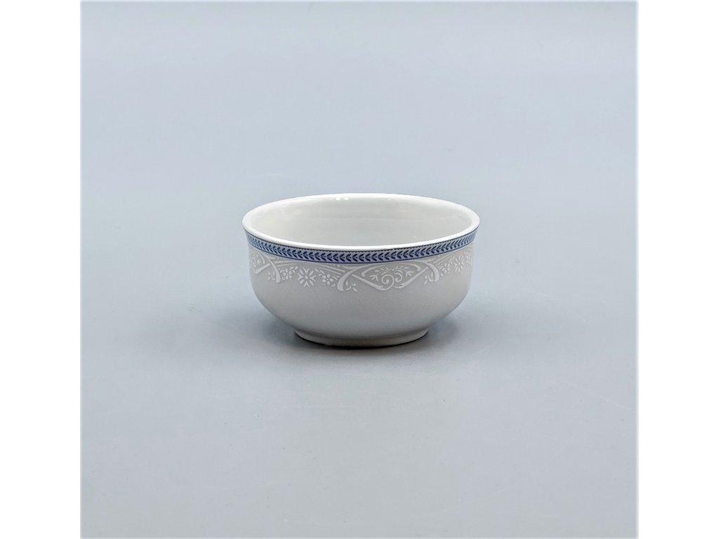 OPAL svatební modrá, Miska ANGELIKA na dochucovadla 8 cm, krajka, Thun