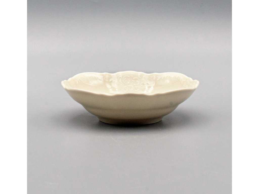 BERNADOTTE, Mísa kompotová 16 cm, Ivory, Thun