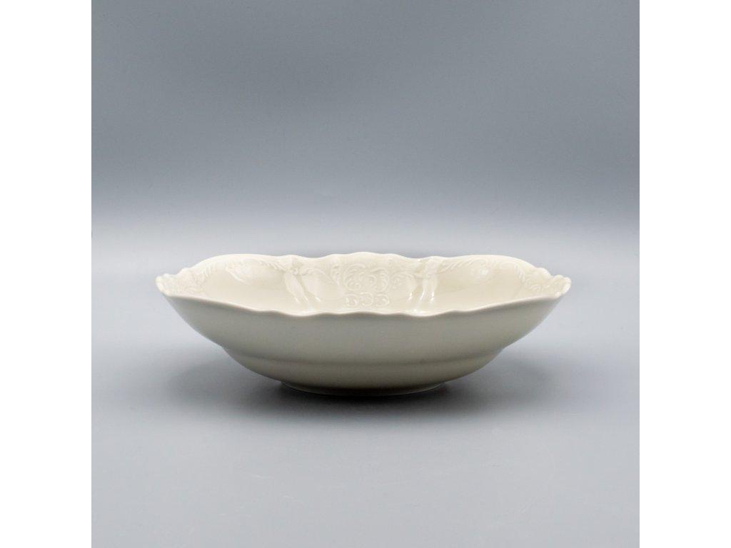 BERNADOTTE, Mísa kompotová 25 cm, Ivory, Thun