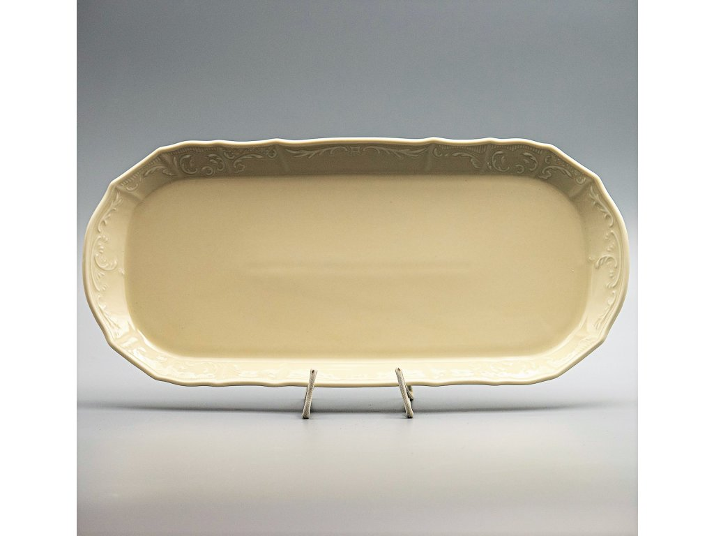 BERNADOTTE, Podnos 37 cm, Ivory, Thun