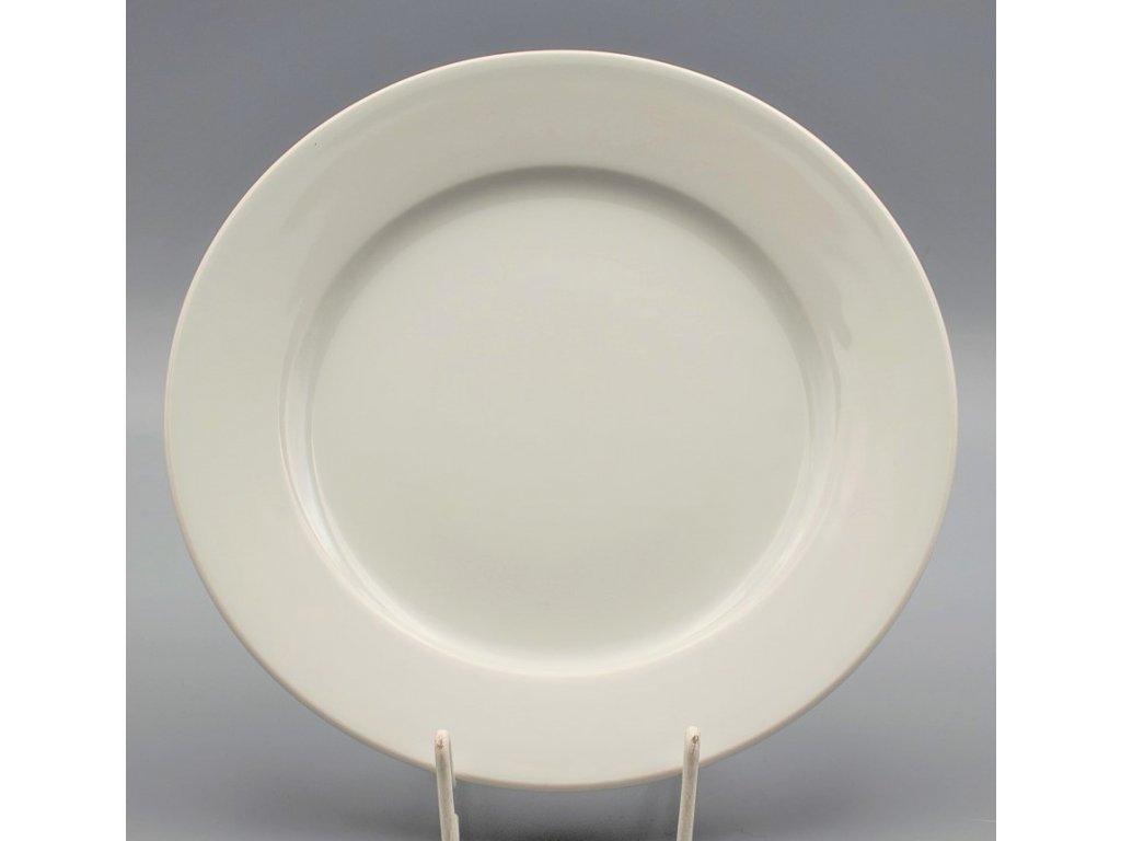 Hotelový Talíř mělký 27 cm, bílá, Thun