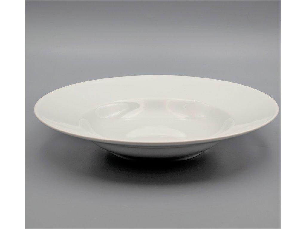 Talíř hluboký PASTA 27 cm, bílá, Thun