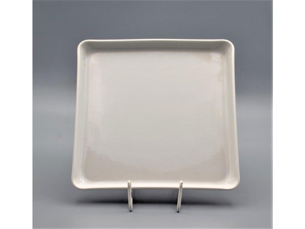 Hotelový podnos hranatý 21 cm, bílá, Thun