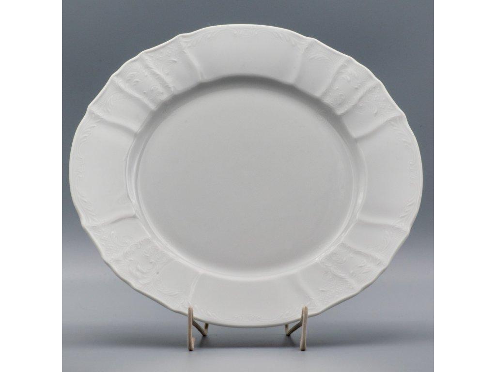 BERNADOTTE, Mísa mělká 30 cm, bílá, Thun