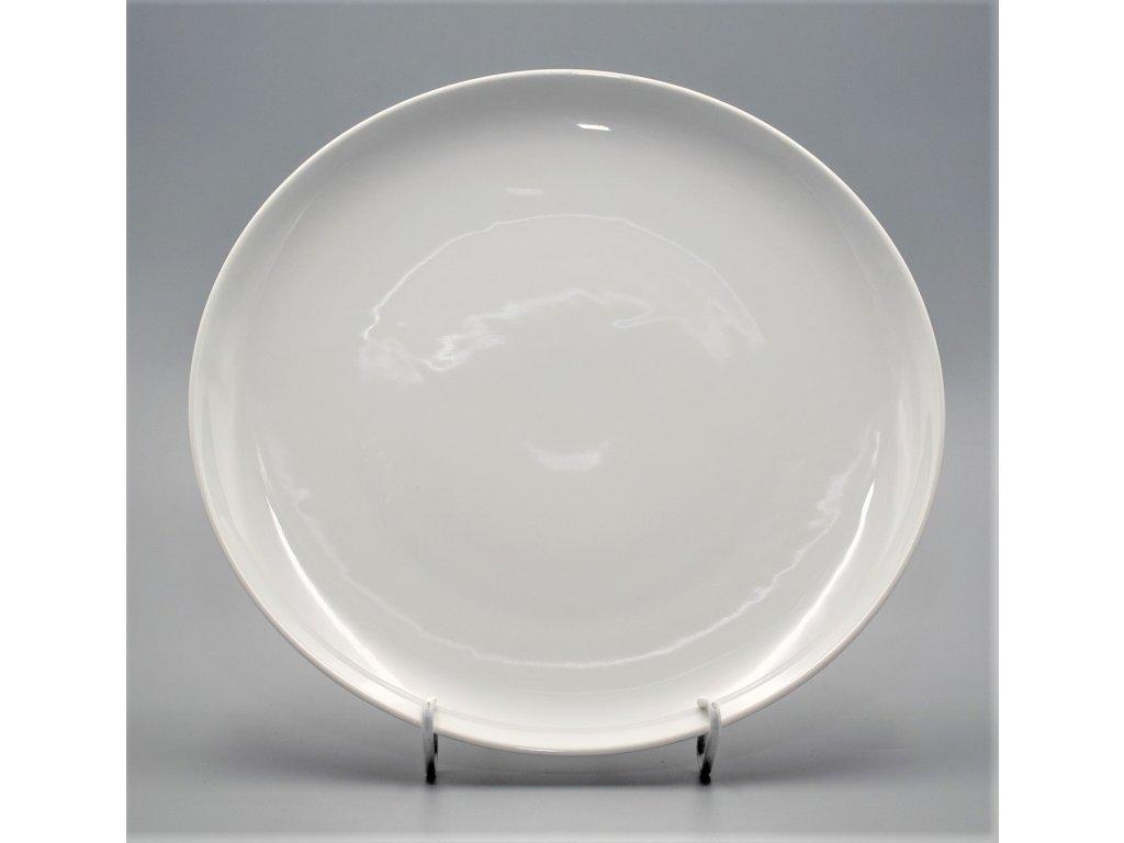 TOM, Mísa mělká kulatá 30 cm, bílá, Thun