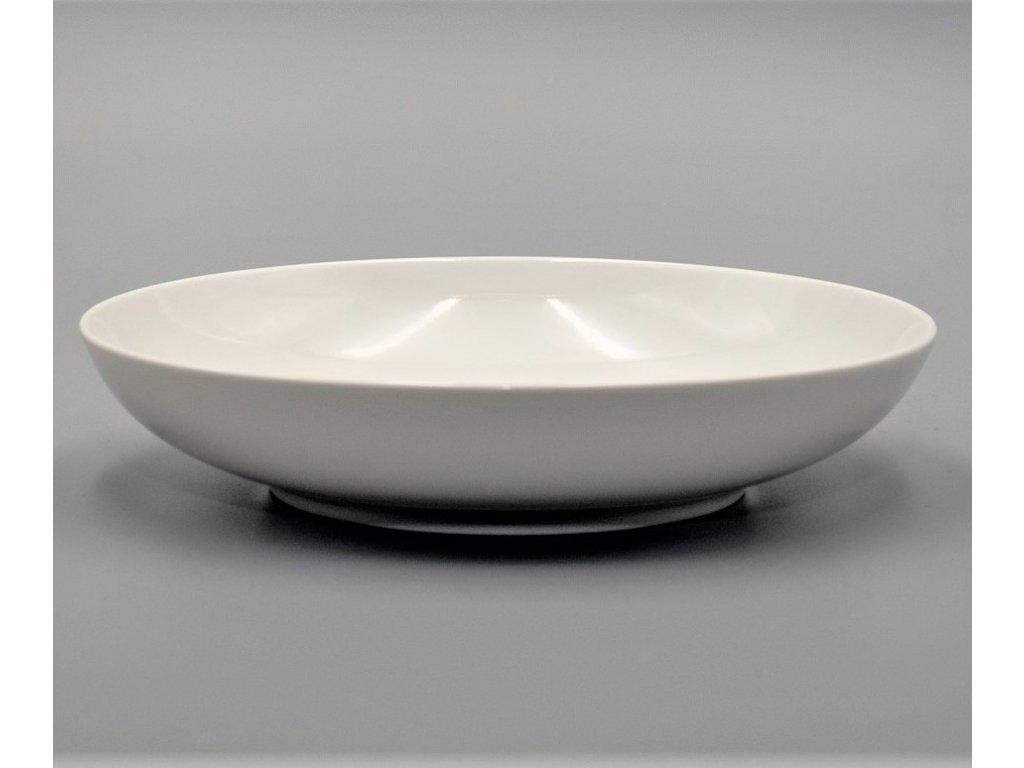 TOM, Talíř hluboký 20 cm, bílá, Thun