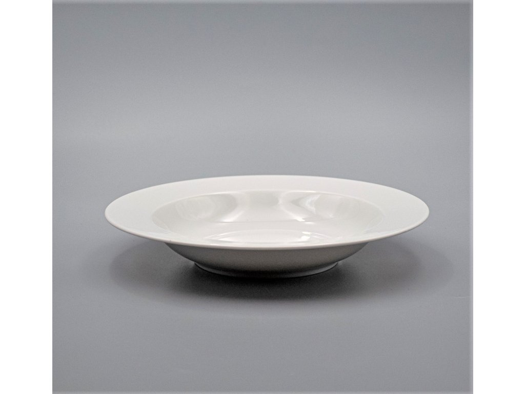 NINA, Talíř hluboký 22 cm, bílá, Thun