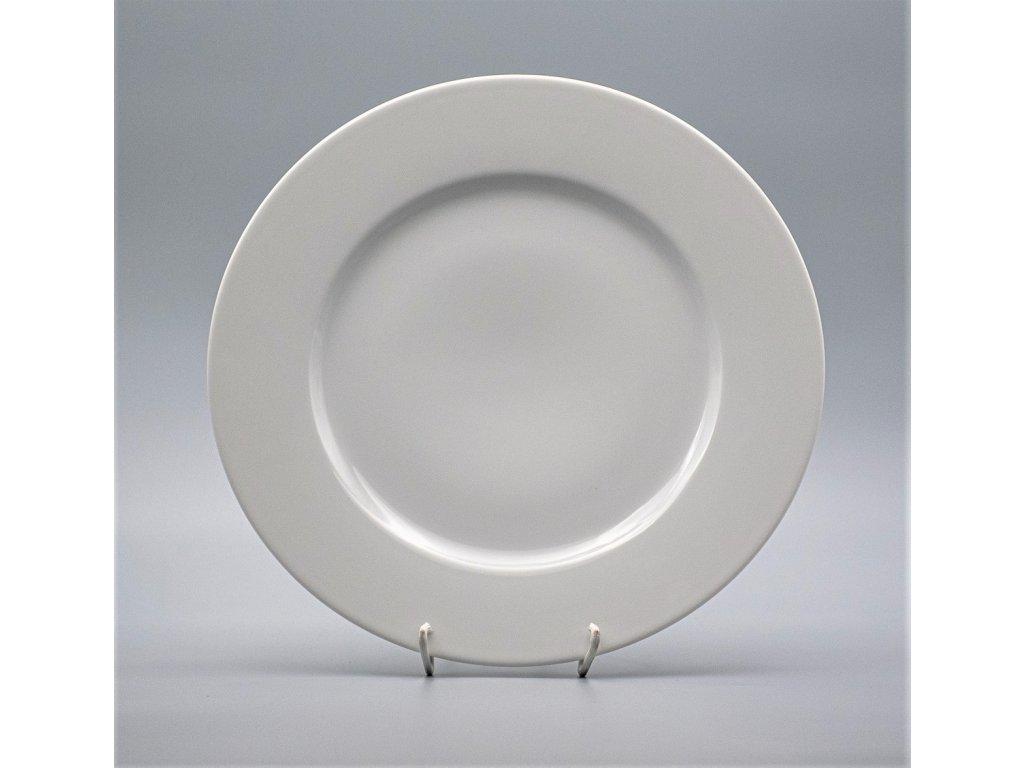 NINA, Talíř mělký 26 cm, bílá, Thun