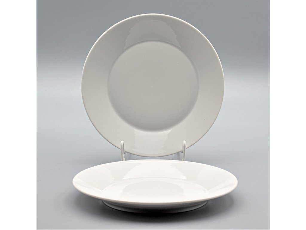 TOM PR, Talíř dezertní 19 cm, bílá, Thun, základ LEA bez proužků