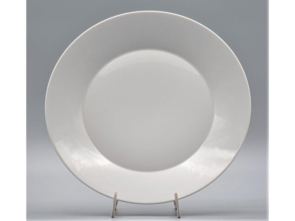 TOM PR., Talíř mělký 27 cm, bílá, Thun, základ LEA bez proužků