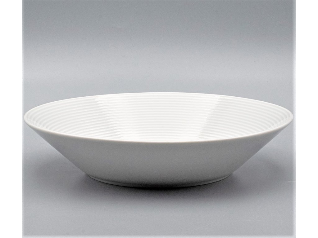 LEA, Talíř hluboký 22 cm, bílá, Thun