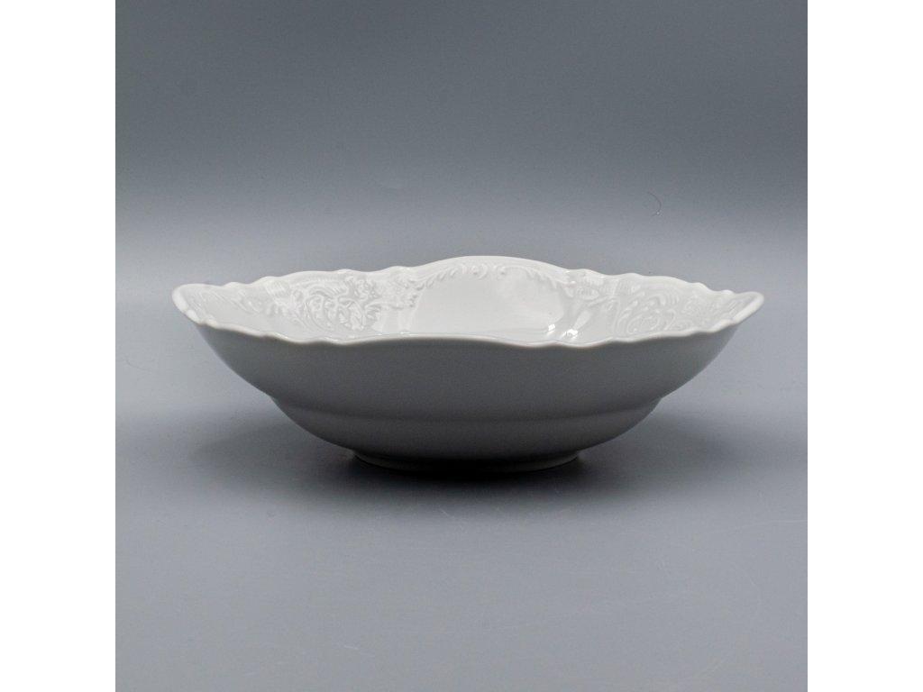 BERNADOTTE, Mísa kompotová 23 cm, bílá, Thun