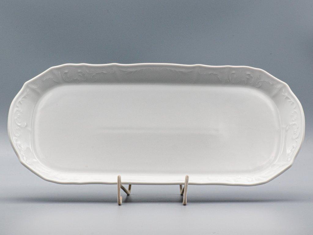 BERNADOTTE, Podnos 37 cm, bílá, Thun