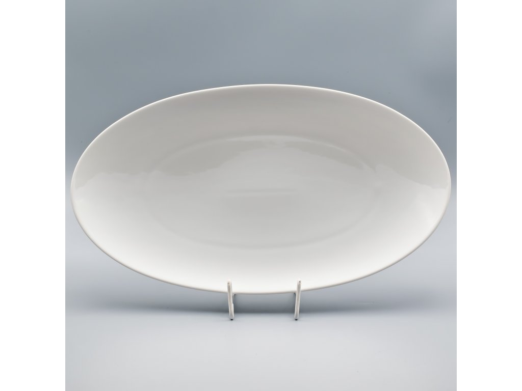 LOOS, Mísa oválná 36 cm, bílá, Thun