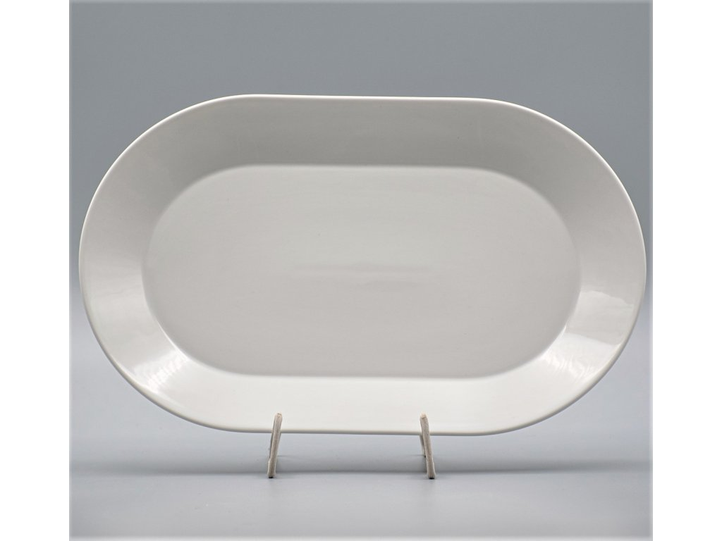 TOM PR, Mísa oválná 38 cm, bílá, Thun