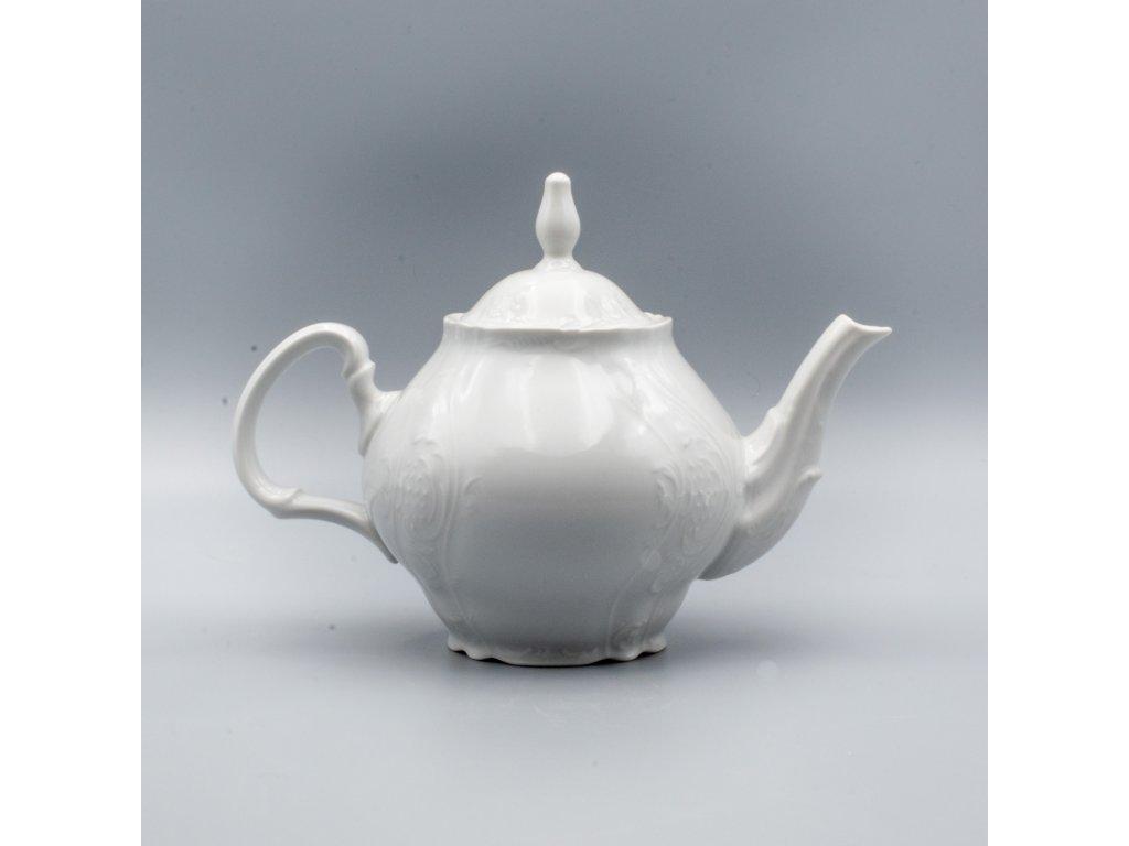 BERNADOTTE, Konvice čajová 1200 ml, bílá, Thun