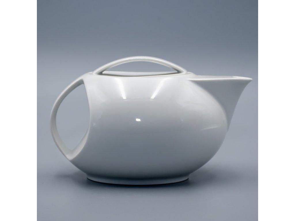 LOOS, Konvice čajová 1 000 ml, bílá, Thun