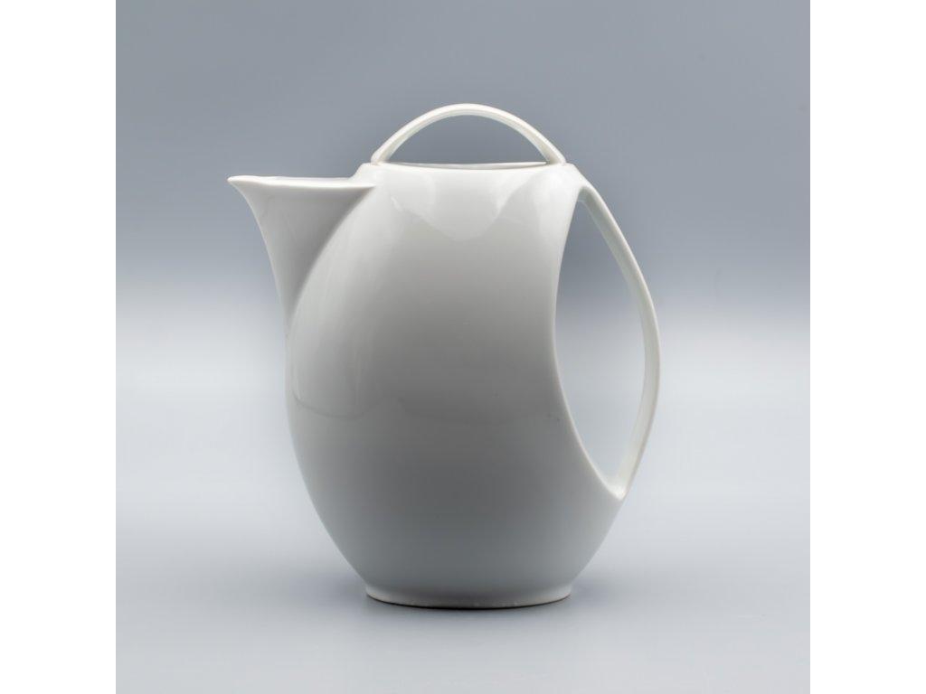 LOOS, Konvice kávová 1 300 ml, bílá, Thun