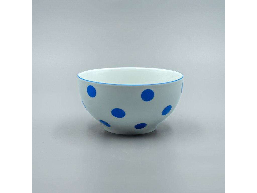 Miska VITAL 700 ml, modrý puntík, Thun