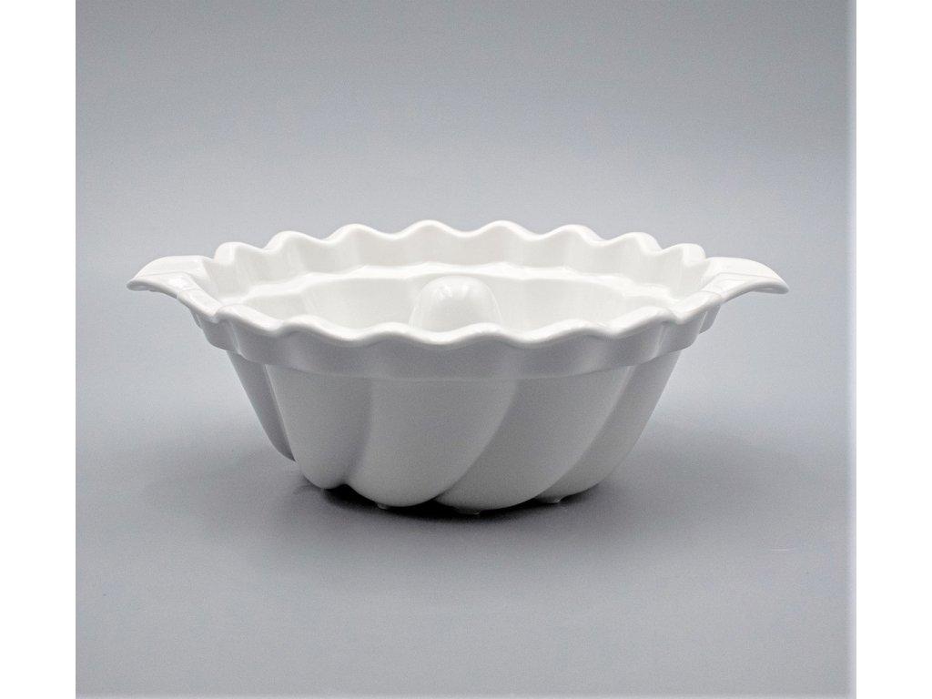 Bábovka 27 cm, bílá, Thun