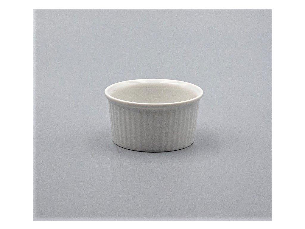 Zapékací miska na muffiny 8,3 cm, bílá, Thun
