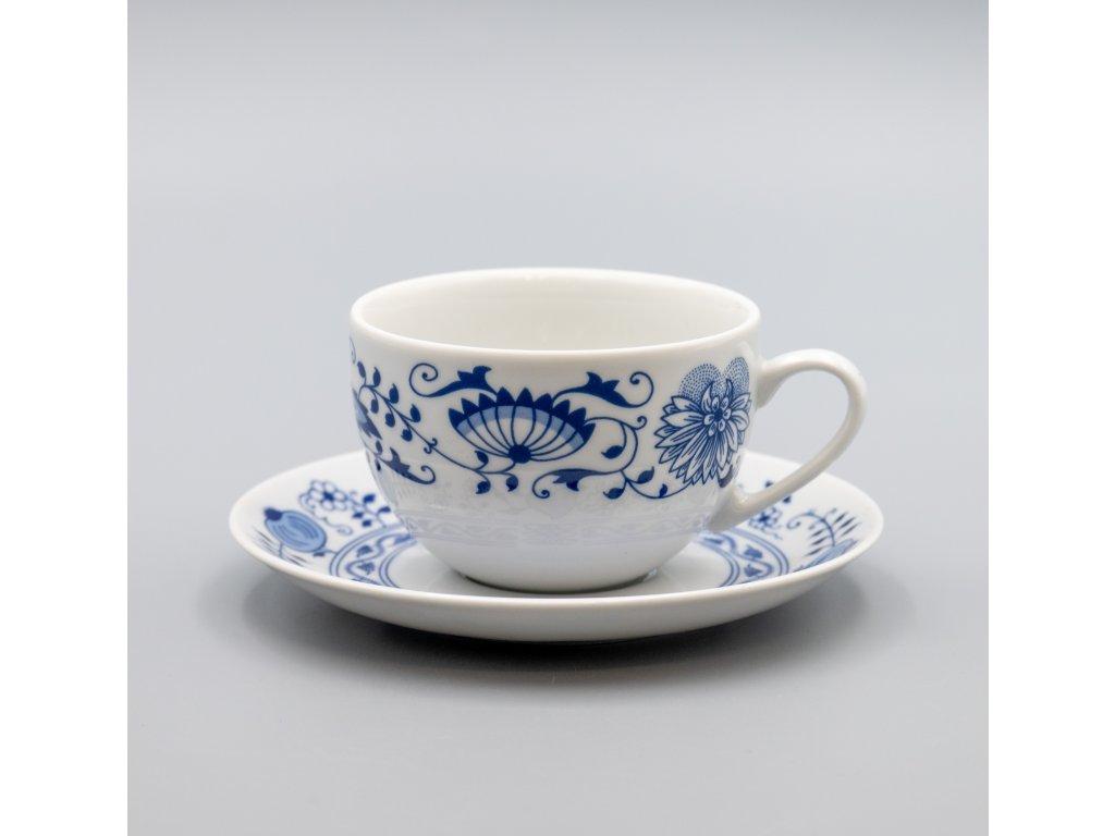 HENRIETA, Šálek s podšálkem čajový nízký 270 ml SAPHYR, Thun