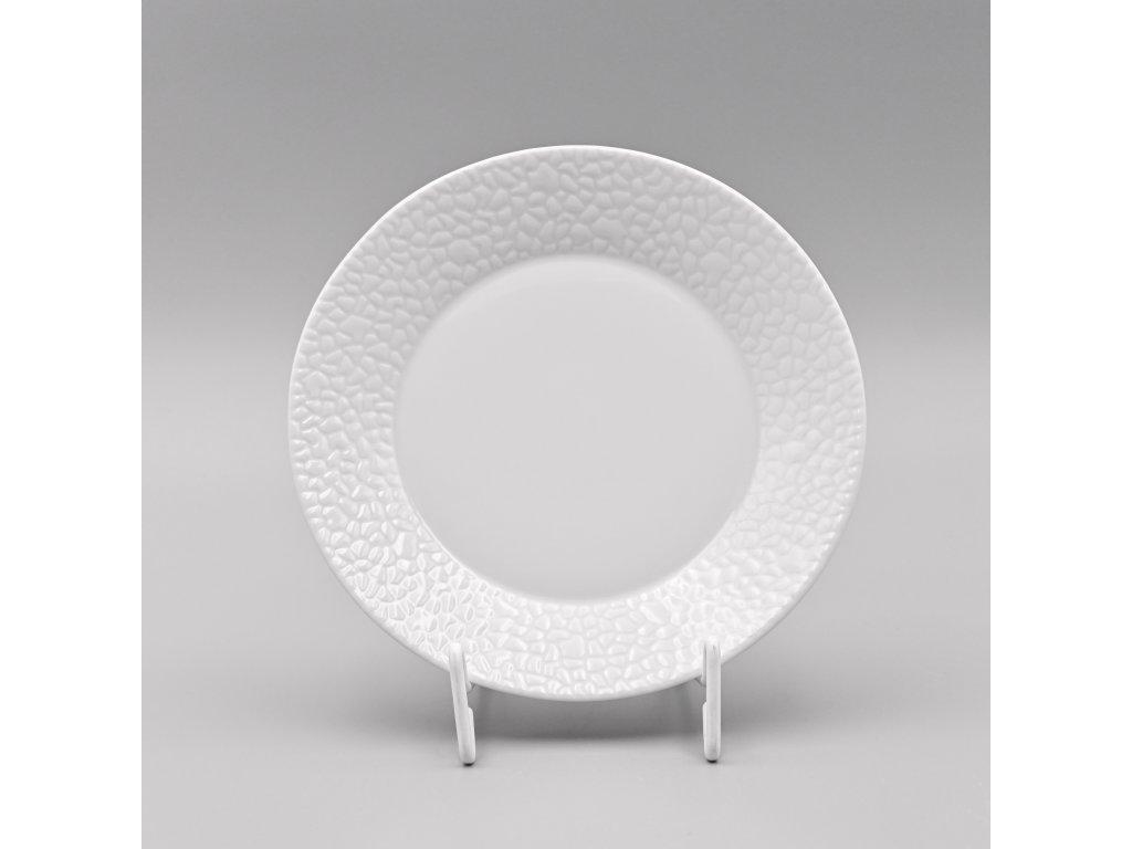 MOZAIKA LEA, Talíř dezertní 19 cm, bílá, Thun
