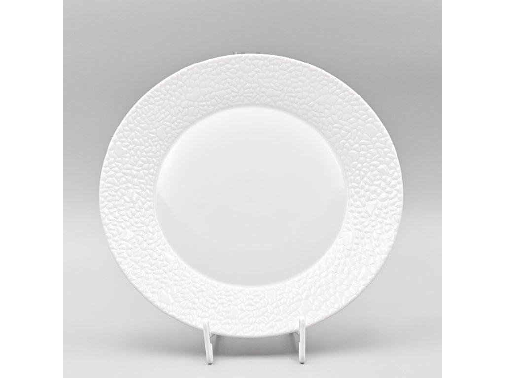 MOZAIKA LEA, Talíř mělký 27 cm, bílá, Thun
