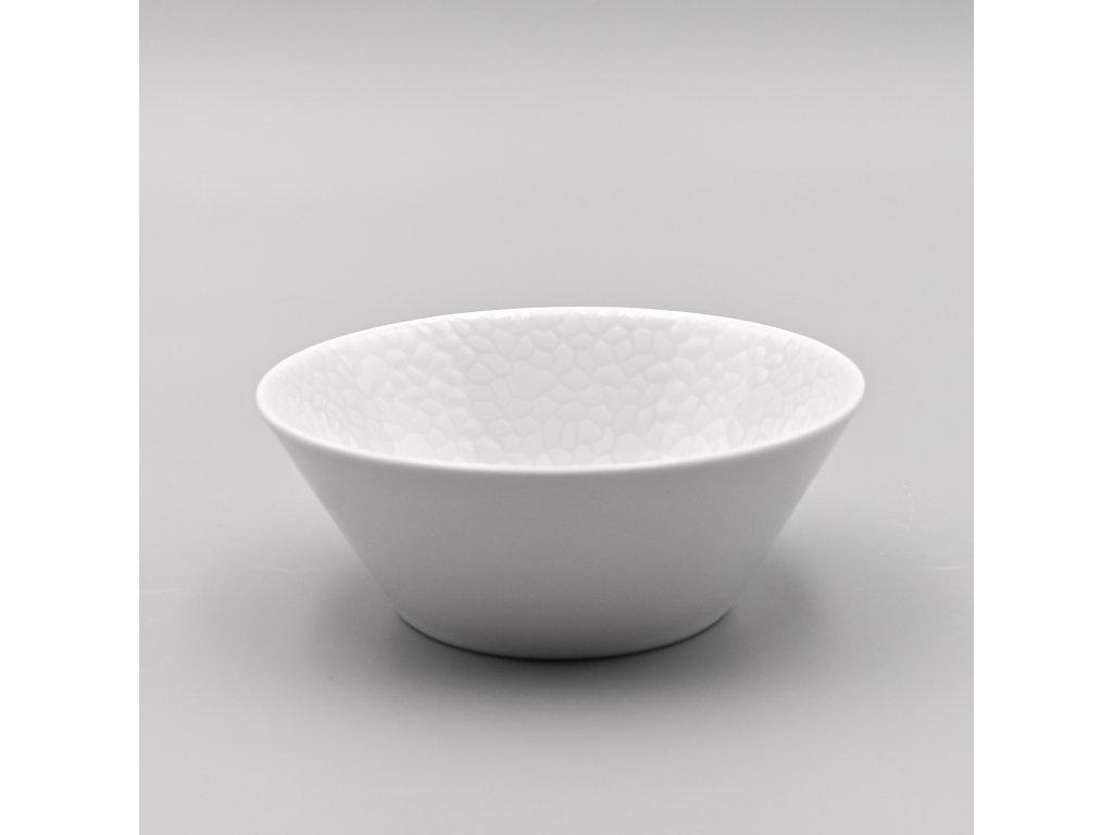 MOZAIKA LEA, Mísa kompotová 16 cm, bílá, Thun