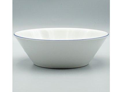 TOM modrá linka, Mísa kompotová 24 cm, Thun
