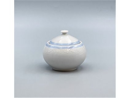 OPAL svatební modrá, Cukřenka 200 ml, krajka, Thun
