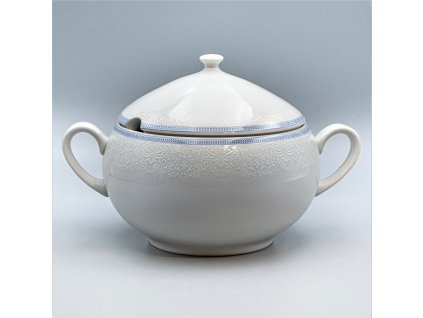 OPAL svatební modrá, Mísa polévkovová 2 800 ml, krajka, Thun
