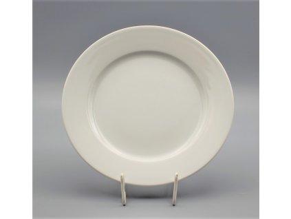 Hotelový Talíř mělký 21 cm, bílá, Thun