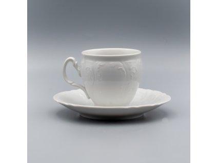 BERNADOTTE, Šálek s podšálkem čajový 240 ml, bílá, Thun