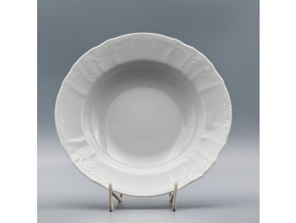 BERNADOTTE, Talíř hluboký 23 cm, bílá, Thun