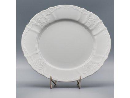 BERNADOTTE, Talíř mělký 25 cm, bílá, Thun