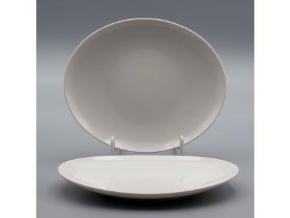 LOOS, Talíř dezertní 19 cm, bílá, Thun