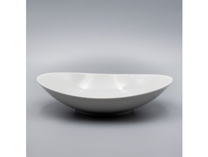 LOOS, Talíř hluboký 23 cm, bílá, Thun