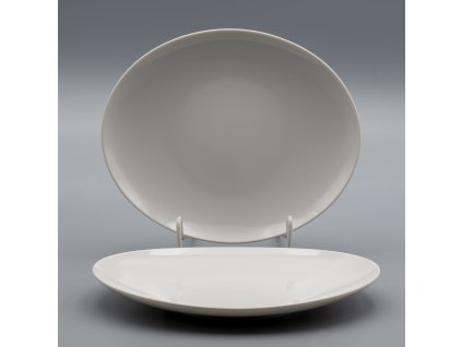 LOOS, Talíř mělký 30 cm, bílá, Thun