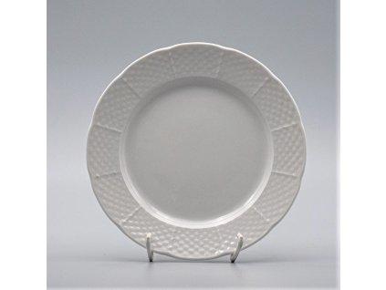 NATÁLIE, Talíř dezertní 19 cm, bílá, Thun
